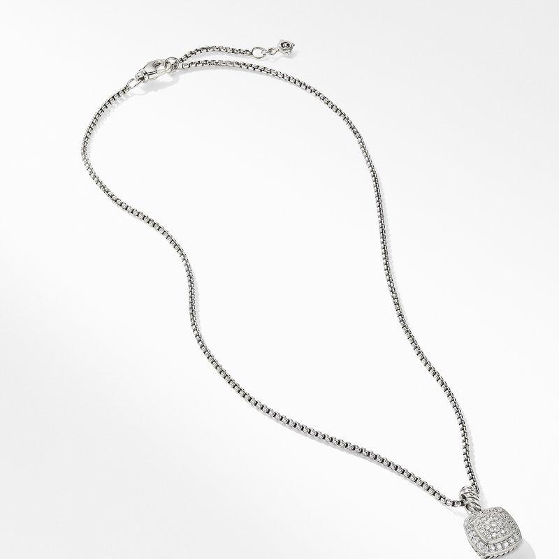 David Yurman Petite Albion® Pendant Necklace with Diamonds