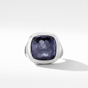 Albion® Ring with Black Orchid