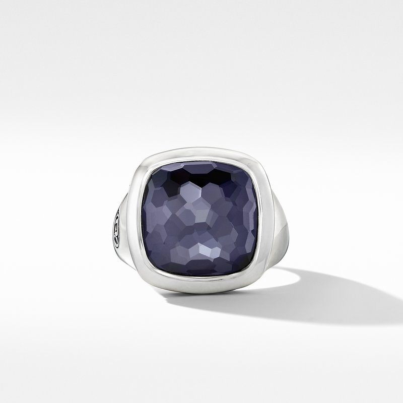 David Yurman Albion® Ring with Black Orchid