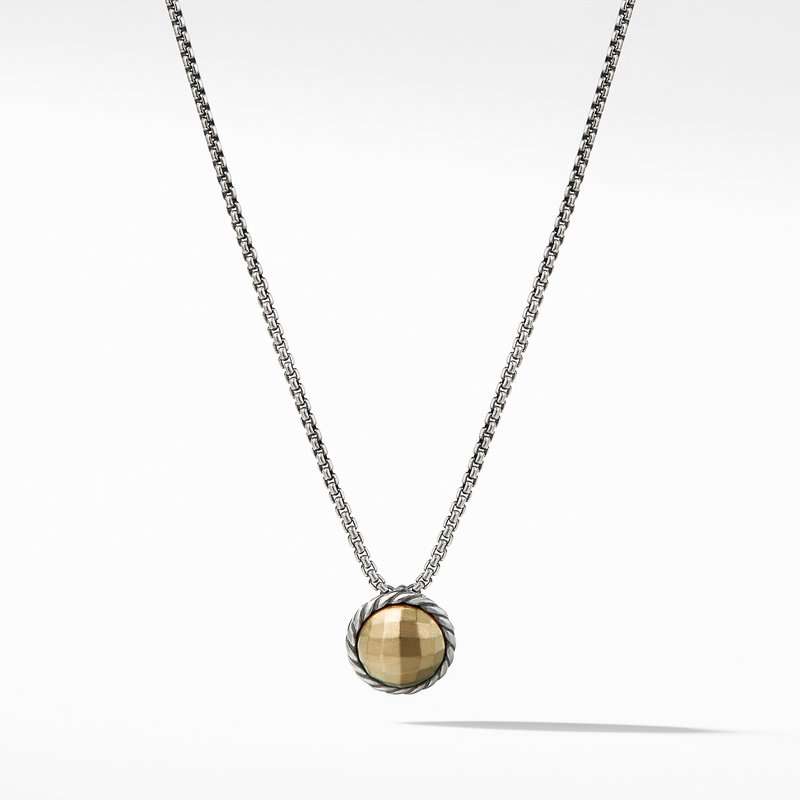 David Yurman Chatelaine® Necklace with 18K Gold