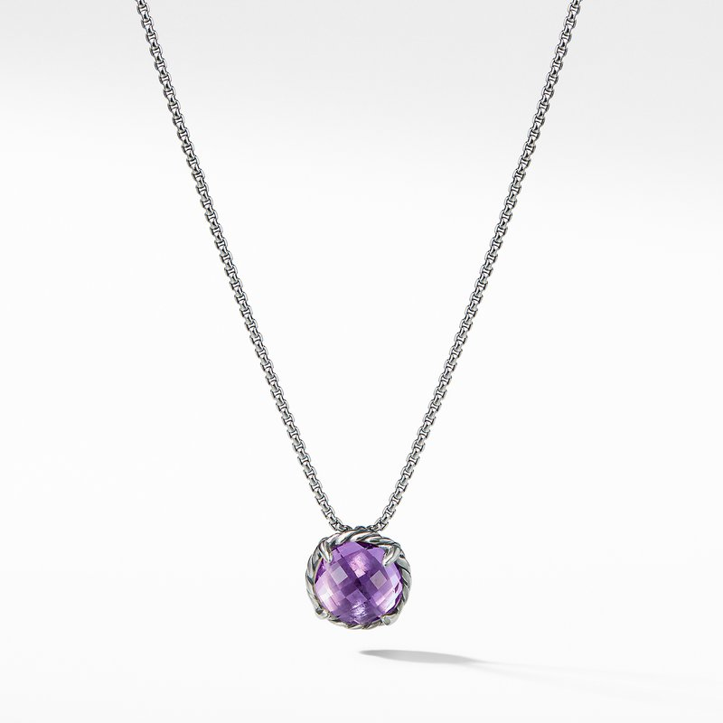 David Yurman Châtelaine® Pendant Necklace with Amethyst