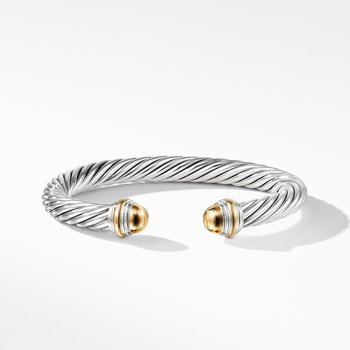 Cable Classic Bracelet with 14K Gold