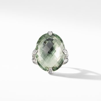 Chatelaine® Statement Ring with Prasiolite