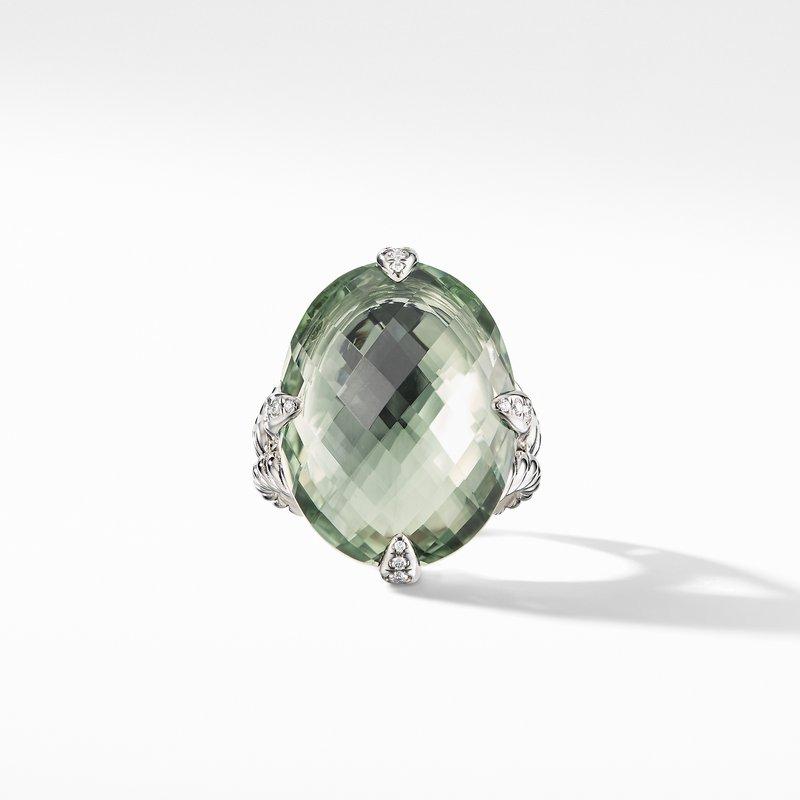 David Yurman Chatelaine® Statement Ring with Prasiolite