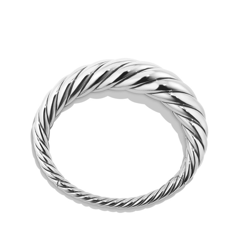 David Yurman Pure Form Cable Bracelet, 17mm