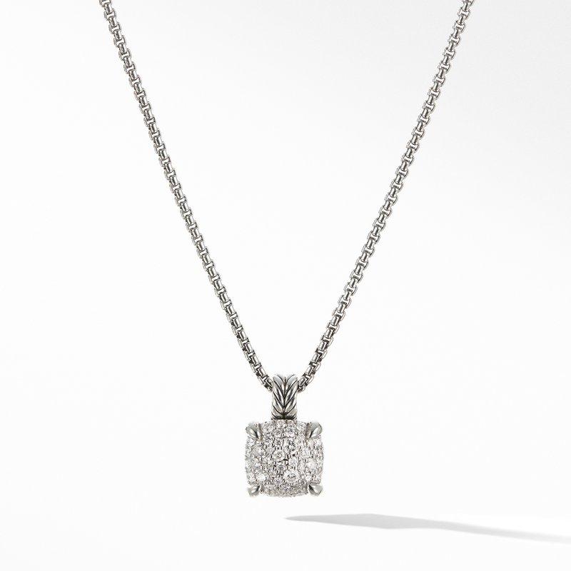 David Yurman Chatelaine® Pendant Necklace with Diamonds