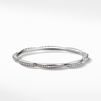Tides Three Station Bracelet with Diamonds