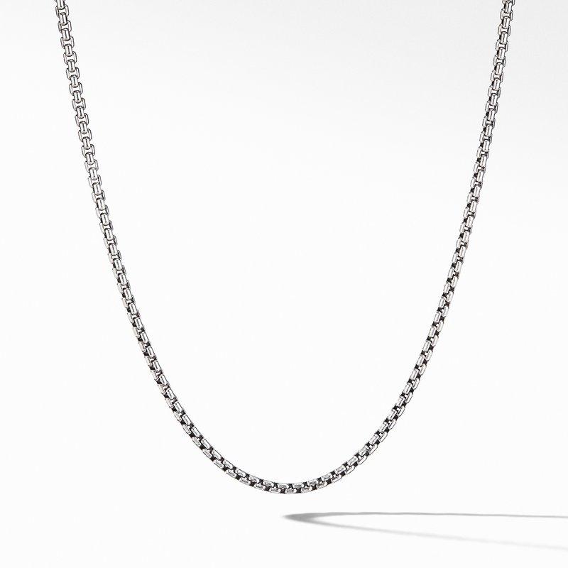 David Yurman Small Box Chain Necklace