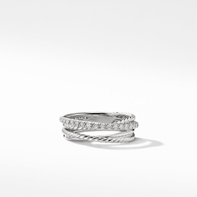 David Yurman The Crossover Collection® Ring with Diamonds