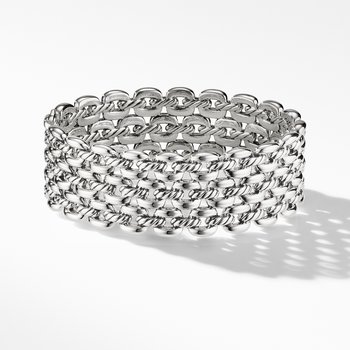 Thoroughbred® Three-Row Cuff Bracelet
