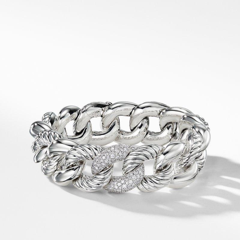 David Yurman Bracelet with Diamonds, 18mm