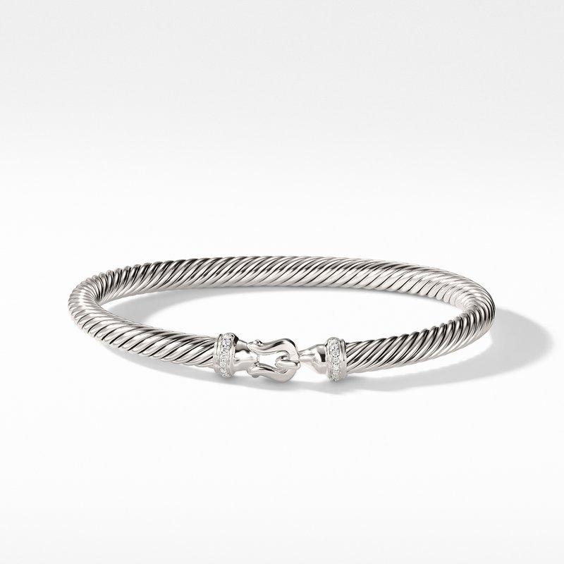 David Yurman Cable Buckle Bracelet with Diamonds