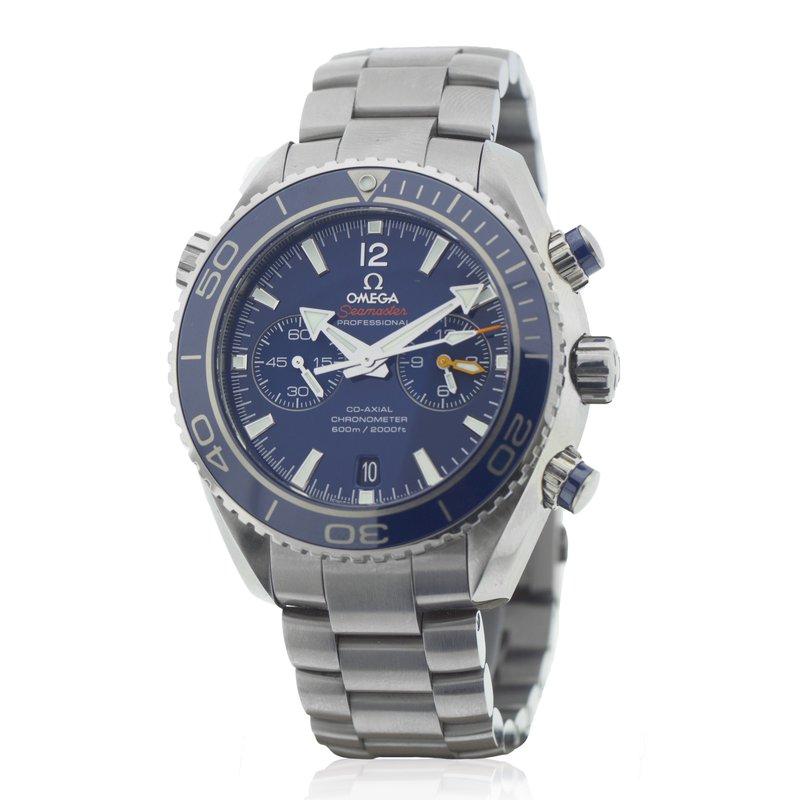 Pre-Owned Watches Omega Titanium Planet Ocean - 45mm - Liquid Metal Bezel