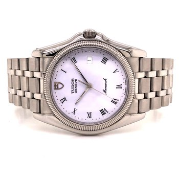 Tudor Monarch - Circa 1990s - 36mm - White Dial - Thin Design