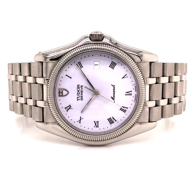 Pre-Owned Watches Tudor Monarch - Circa 1990s - 36mm - White Dial - Thin Design