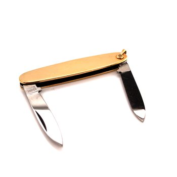 Dress Pocket Knife -  12K Gold Filled