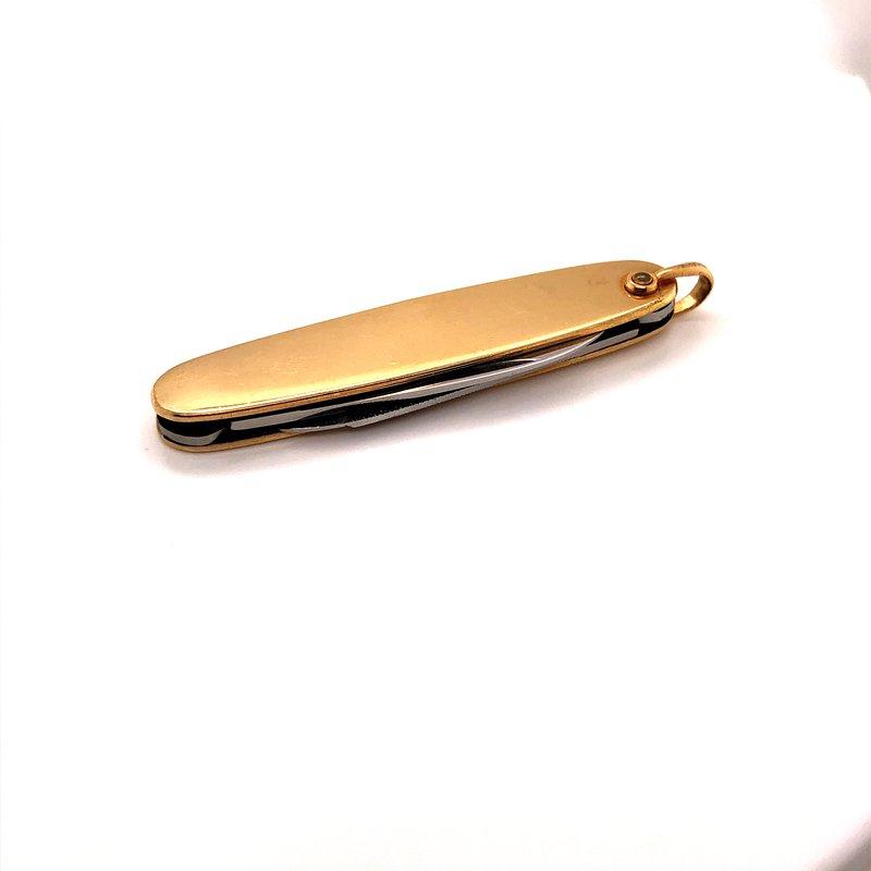 Estate & Pre-Owned Jewelry Dress Pocket Knife -  12K Gold Filled