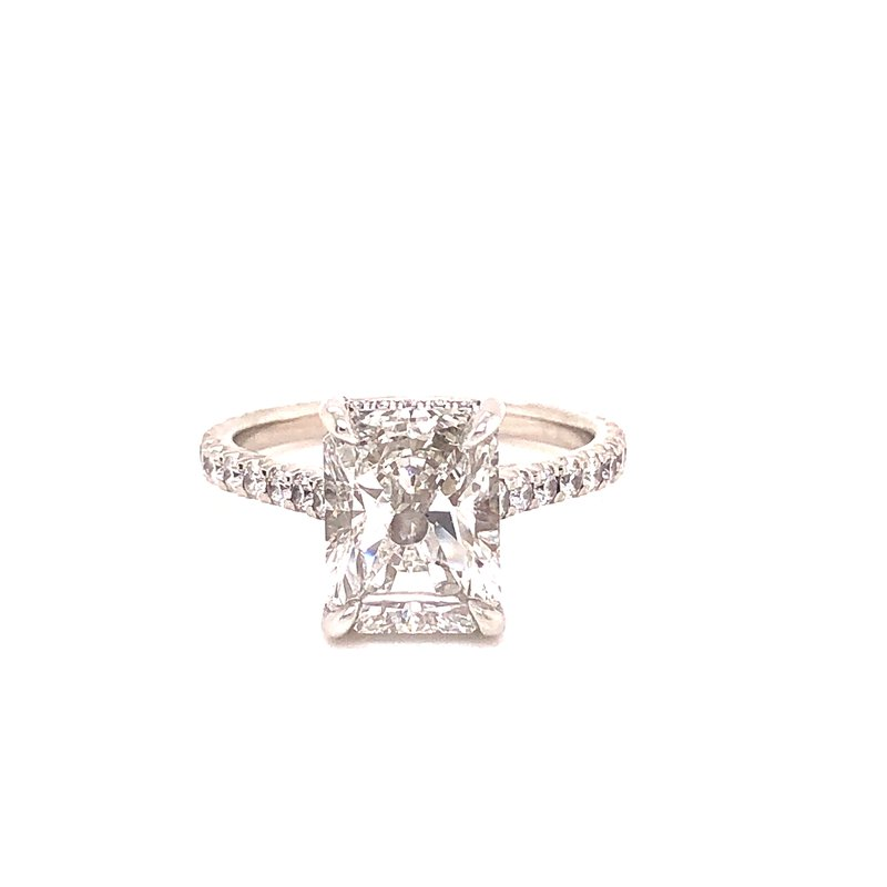 Jackson Jewelers Private Collection Radiant Cut Diamond Engagement Ring - 2.65 Ct
