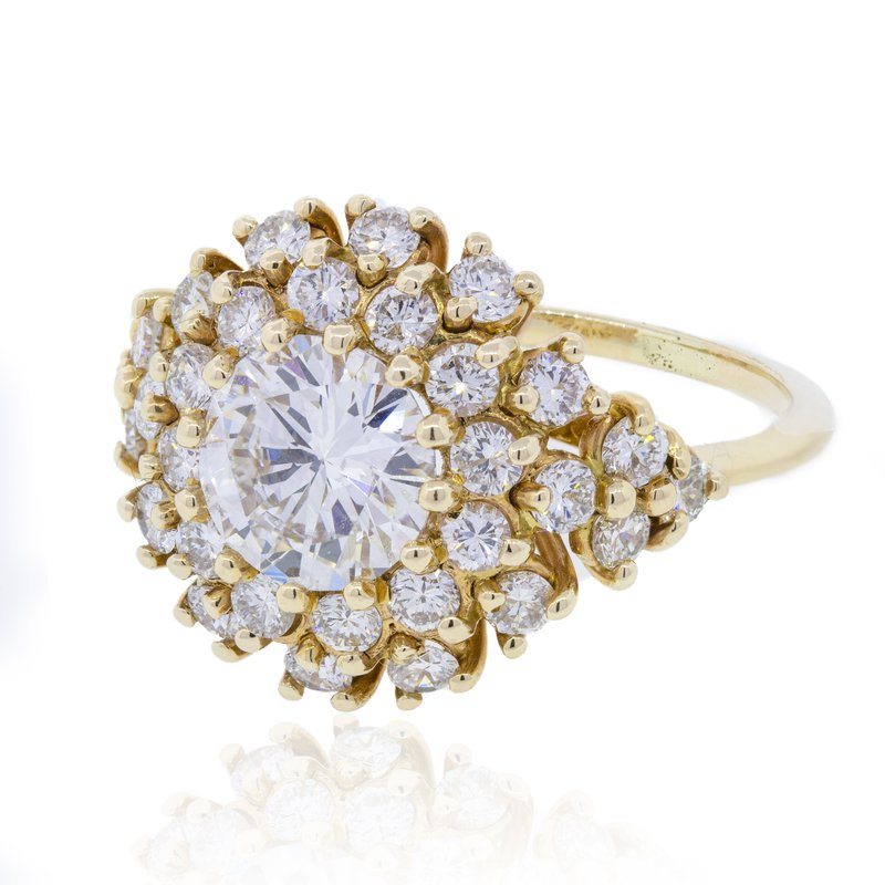Estate & Pre-Owned Jewelry 1.50 Ct Diamond Cocktail Ring