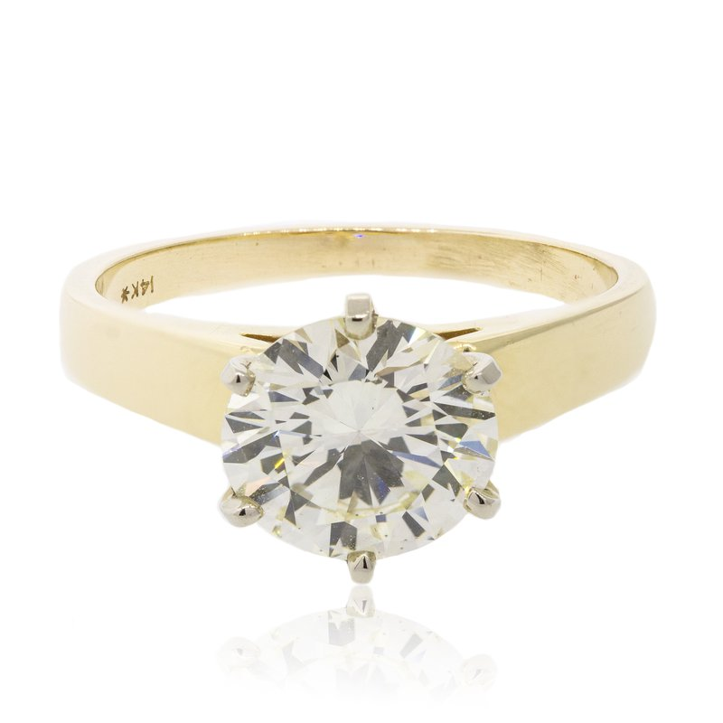 Estate & Pre-Owned Jewelry 2.26 Ct Diamond Solitaire