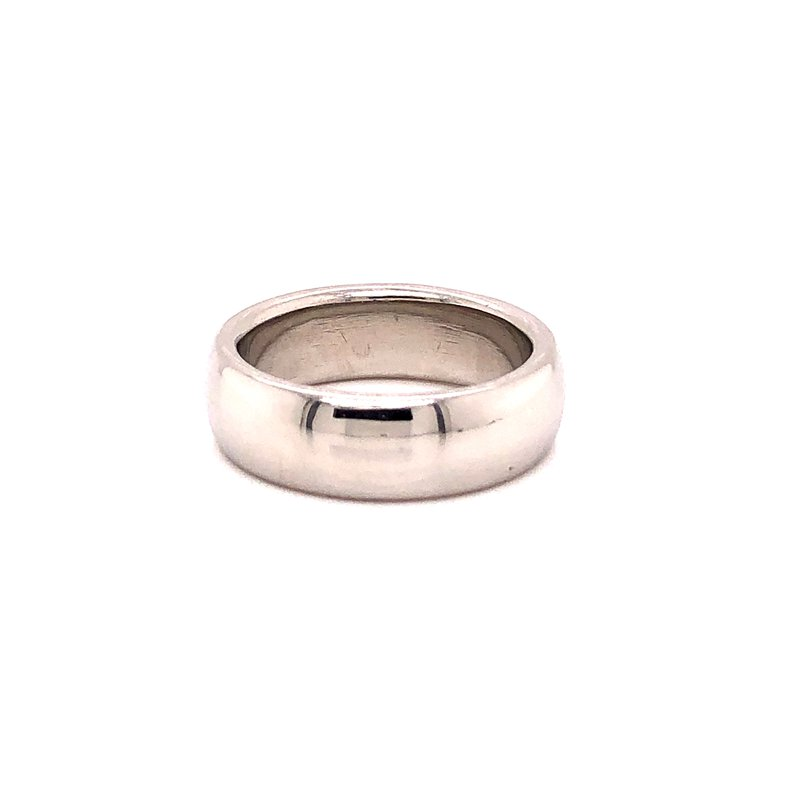 Estate & Pre-Owned Jewelry Tiffany & Co. Platinum Band