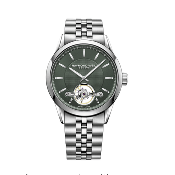 Raymond Weil -  Freelancer Automatic - 42.5mm - Green Dial