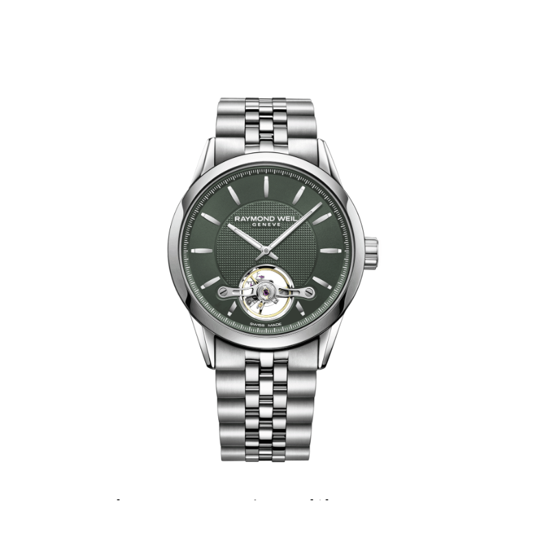 Raymond Weil Raymond Weil -  Freelancer Automatic - 42.5mm - Green Dial