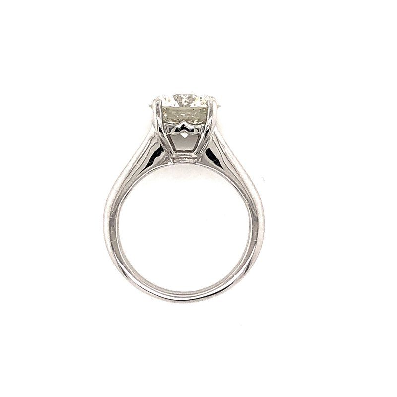 Jackson Jewelers Private Collection 3.08 ct Platinum Solitaire