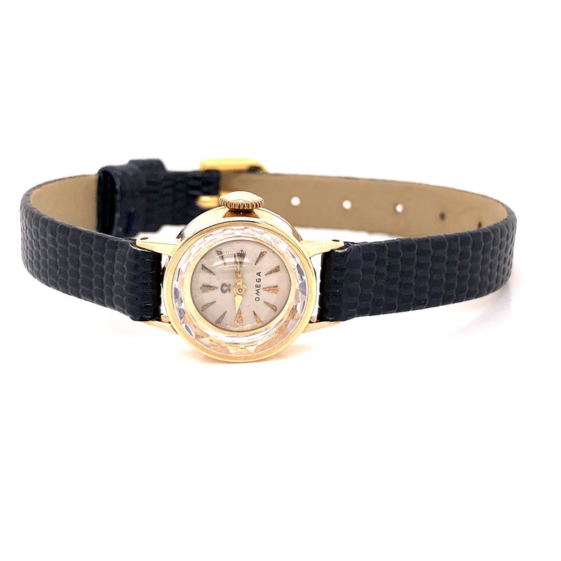 Pre-Owned Watches Omega Vintage Ladies watch - Circa 1960's - 14k Yellow gold - Petite Design