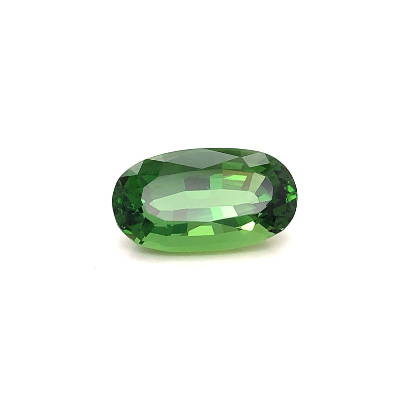 Estate & Pre-Owned Jewelry Oval cut Green Tourmaline - 7.19 ct