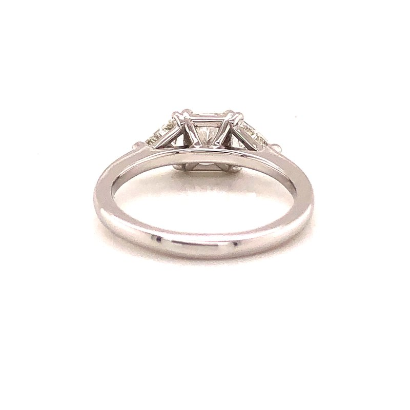 Jackson Jewelers Private Collection 1.39 ct Three Stone Diamond Ring - 14k White Gold