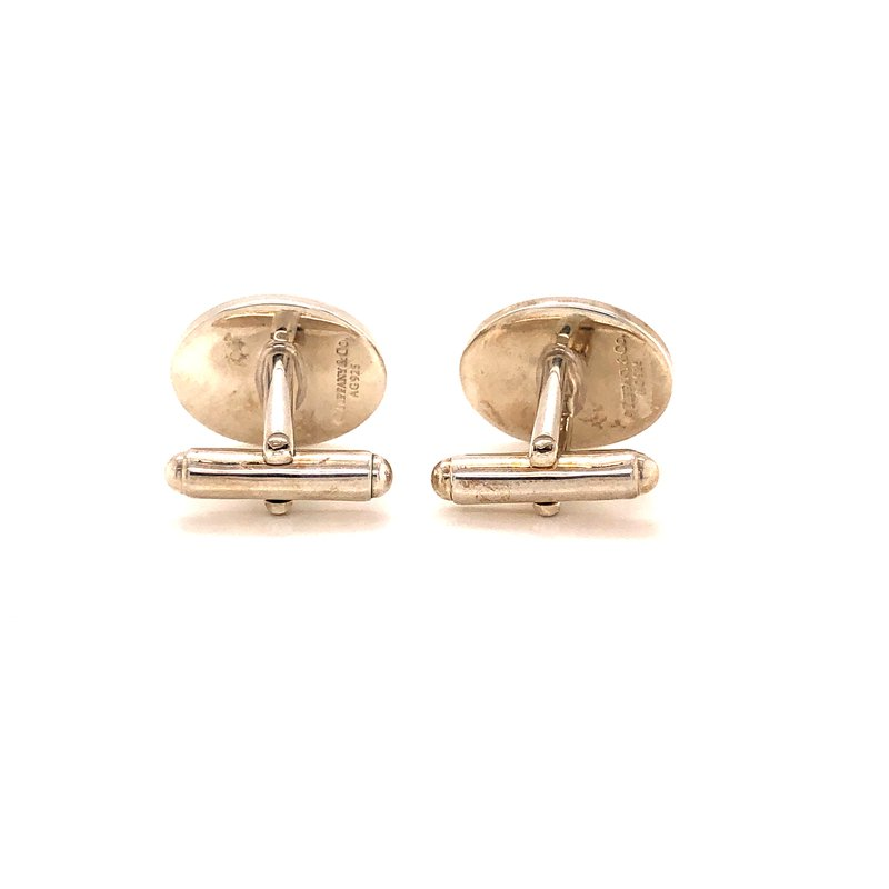 Estate & Pre-Owned Jewelry Tiffany & Co. Cufflinks - Sterling Silver