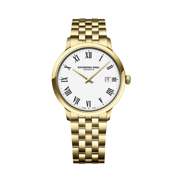 Raymond Weil - Toccata Classic Mens Gold - 39mm -  White Dial - Quartz