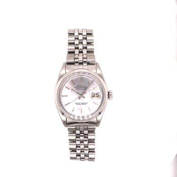 Rolex DateJust - Ref 1600 - Circa 1966 - 36mm - Silver Index Dial - Jubilee bracelet