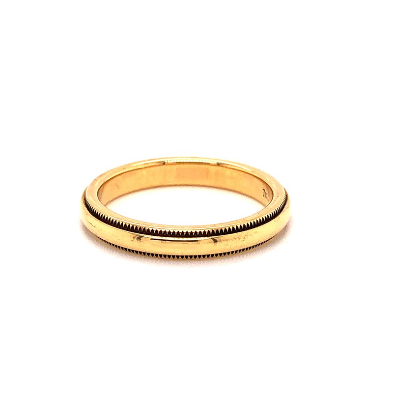 Estate & Pre-Owned Jewelry Tiffany & Co. Gold Band - 18K Yellow