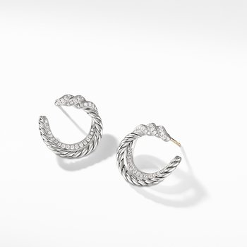 Continuance® Hoop Earrings with Diamonds