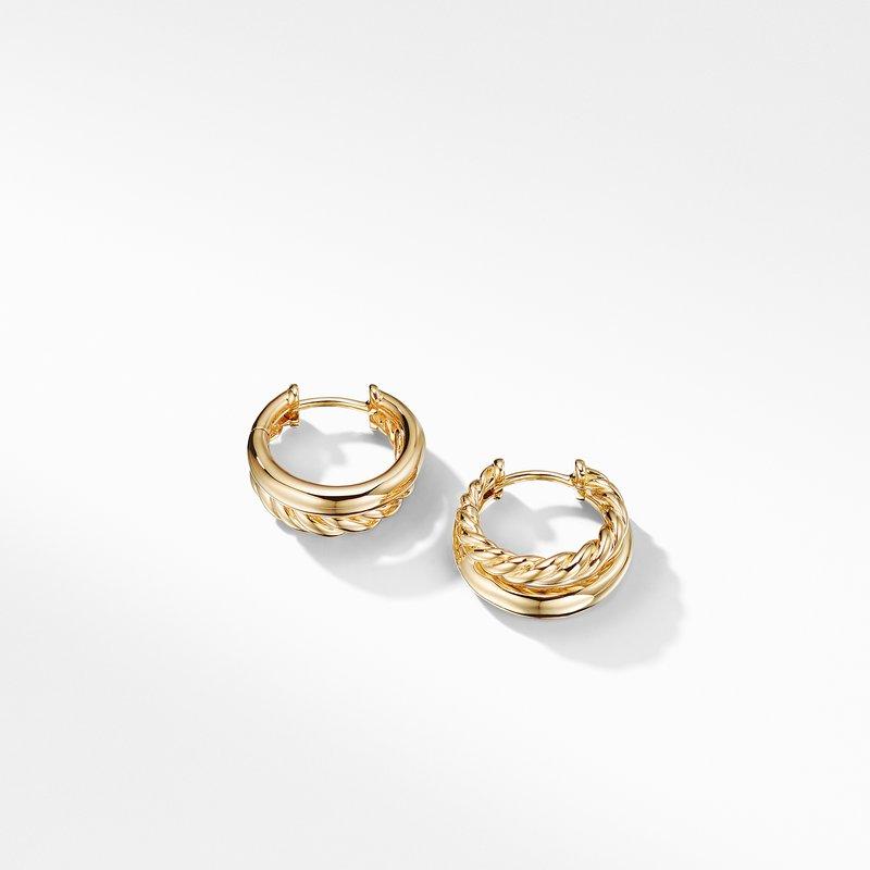 David Yurman Pure Form® Hoop Earrings in 18K Gold, 25mm