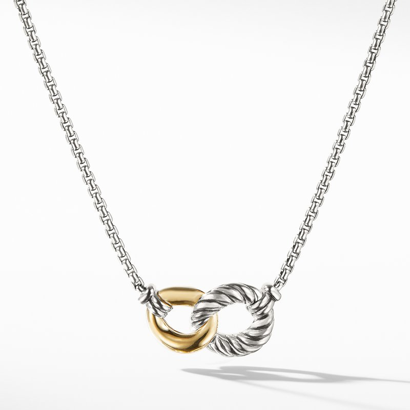 David Yurman Necklace with 18K Gold