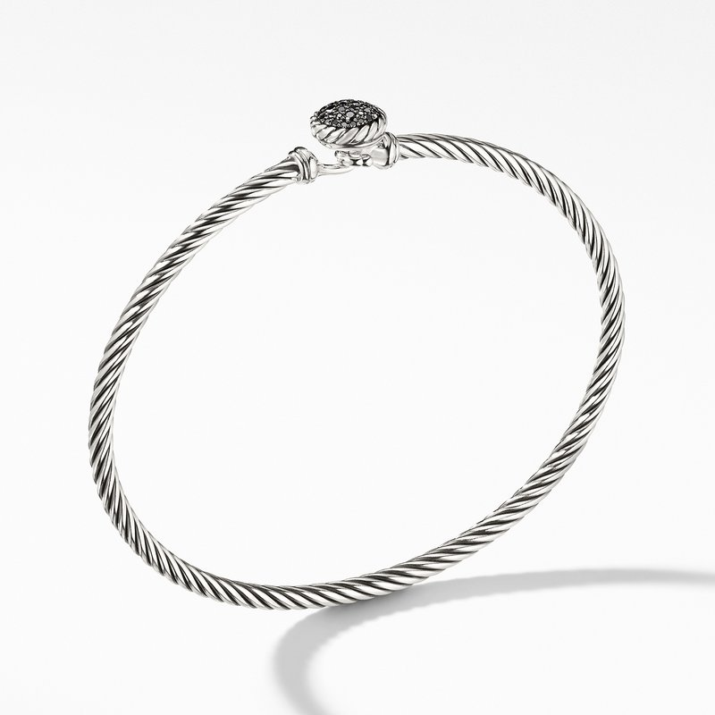 David Yurman Bracelet with Black Diamonds