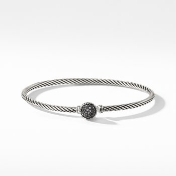 Bracelet with Black Diamonds