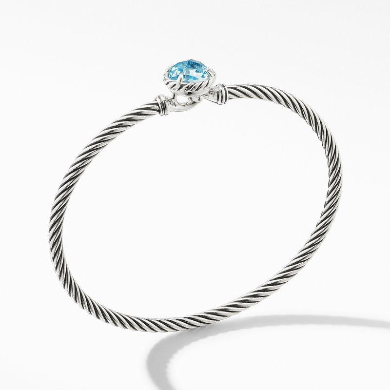 David Yurman Chatelaine® Bracelet with Blue Topaz