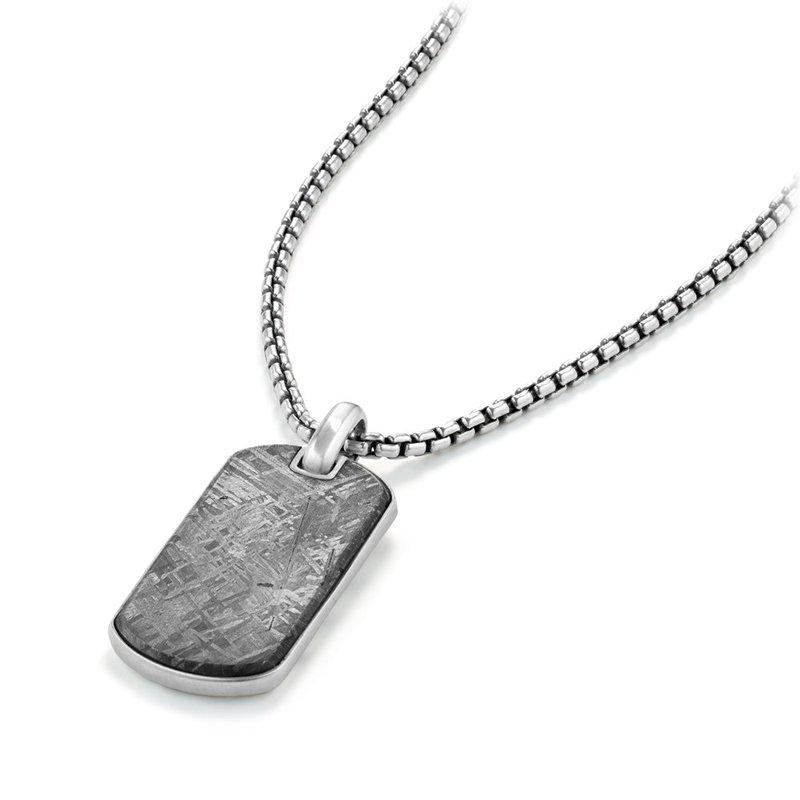 David Yurman Streamline® Tag with Meteorite