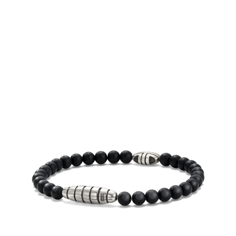 David Yurman Southwest Bead Bracelet in Black Onyx