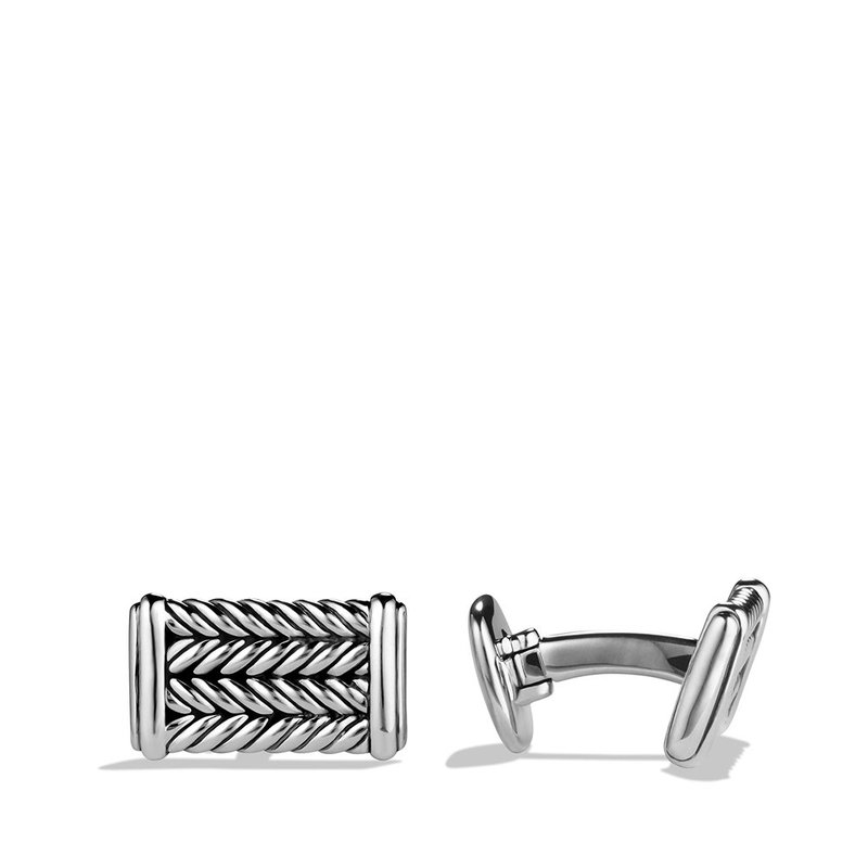 David Yurman Chevron Cufflinks