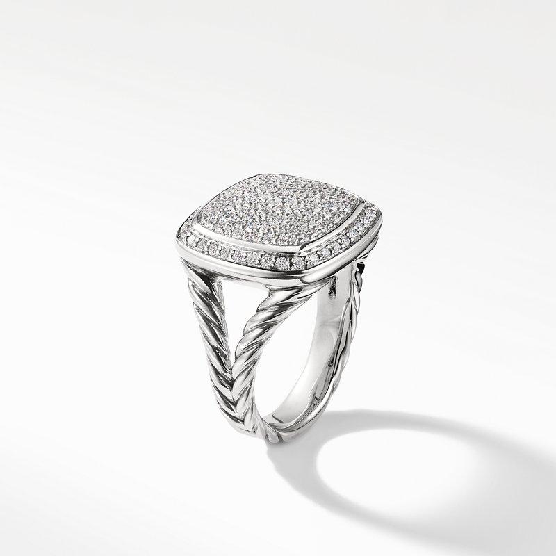 David Yurman Ring with Diamonds