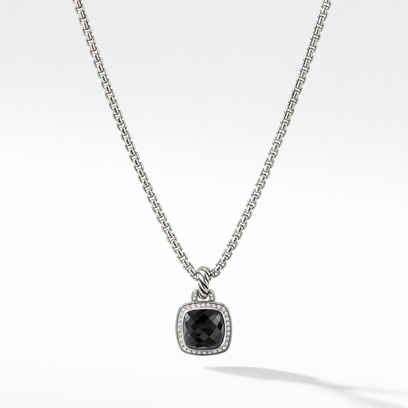 David Yurman Albion® Pendant with Black Onyx and Diamonds