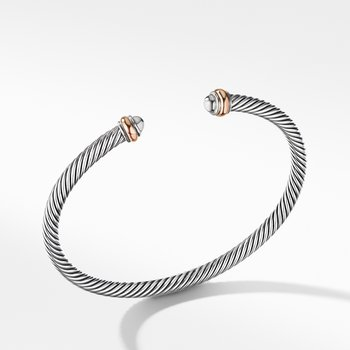 Cable Classics Collection® Bracelet with 18K Rose Gold