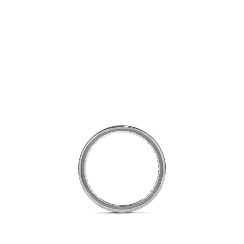 David Yurman DY Classic Band Ring in Grey Titanium