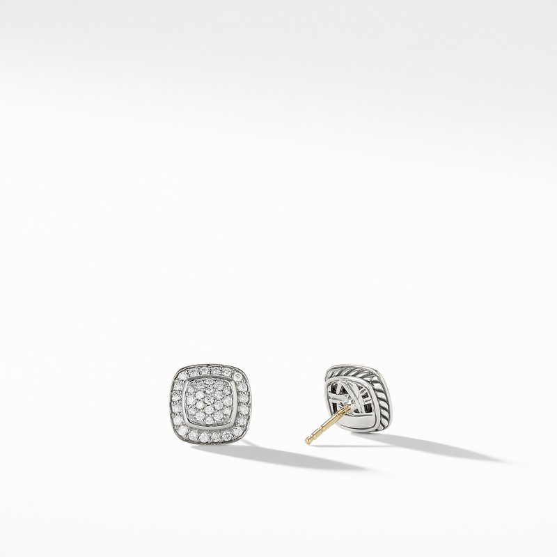 David Yurman Petite Albion® Full Pavé Earrings