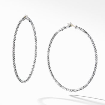 Cable Classics Hoop Earrings